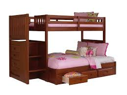 Discovery Bunk Bed Discovery World Furniture Merlot Staircase Bunk Bed