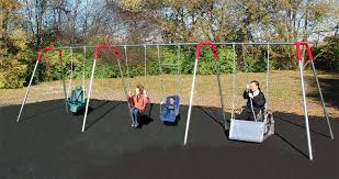 handicap swing wheelchair accessible swings playground equipment for commercial