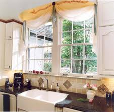 kitchen style window kitchens valances window treatments curtain