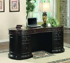 amazon com coaster oval shaped executive desk kitchen u0026 dining