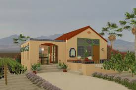 southwestern houses adobe southwestern style house plan 1 beds 1 00 baths 398 sq