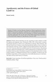 Letter Of Intent To Lease Commercial Property by Agroforestry And The Future Of Global Land Use Springer