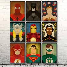 online get cheap men canvas superhero aliexpress com alibaba group