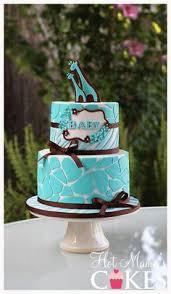 Giraffe Baby Shower Cake Gender Reveals U0026 Showers Pinterest