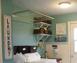 Laundry Room Accessories Decor Metal Hanging Racks Laundry Room Accessories And Decor