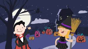 halloween freeze dance song video for preschool and kindergarten
