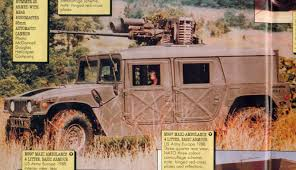 armored humvee interior hmmwv with autocannon variants
