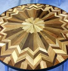 i made quilt inspired tables out of salvaged wood i found all over