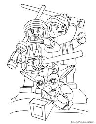 lego star wars 01 coloring page coloring page central