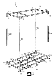 patent us6726041 metal shipping crate google patents
