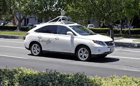 lexus of valencia staff google self driving car in fender bender with vta bus sfgate