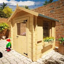 wooden log cabin the mad dash children s wooden log cabin playhouse 5 x 5