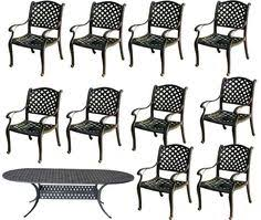Nassau Outdoor Furniture by Set Of 6 Outdoor Patio Bar Stools Furniture Nassau Swivel Cast