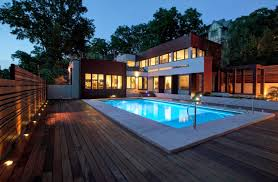 outdoor pool deck lighting amazing 17 deck lighting designs ideas design trends premium psd
