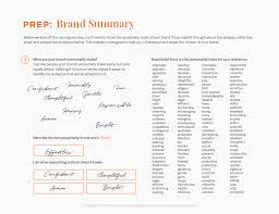 fuze branding brainstorm worksheet tips for naming your business