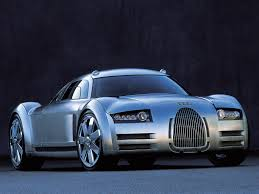 concept car of the audi rosemeyer concept 2000 old concept cars