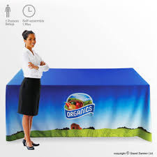 Custom Table Cloths by Custom Tablecloth Branded Printed Table Graphics