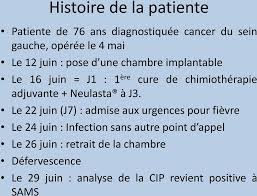 infection chambre implantable septicémie sur chambre implantable analyse approfondie des causes