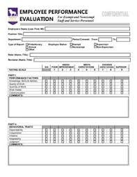 free employee performance evaluation form template http itz my