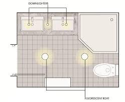 Bathroom Lighting Layout Bathroom Layout Idea Bezold House To Be Pinterest