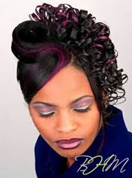 Half Up Half Down Hairstyles Black Hair Wedding Hairstyles For Black American Loose Curls Half Up Half