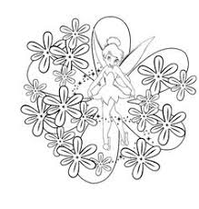 tinkerbell coloring pages tinkerbell disney