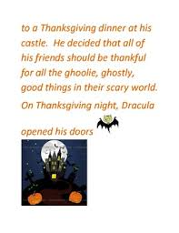 thanksgiving story with comprehension and discussion questions by