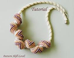 seed bead necklace etsy