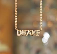 Name Chain Necklace Diamond Cut Block Name Necklace Kylie Jenner Khloe Kardashian
