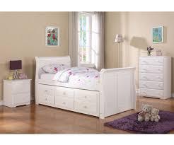 White Full Size Bedroom Furniture Sleigh Full Size Captains Trundle Bed White Bedroom Furniture