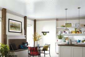 kitchen ceiling ideas armstrong ceilings residential woodhaven beadboard