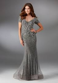 evening gown net and lace evening gown style 71523 morilee