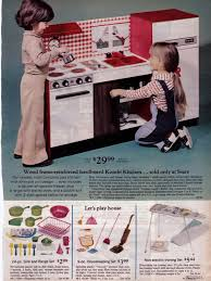 my kitchen set from sears wish book wonder why my real kitchens
