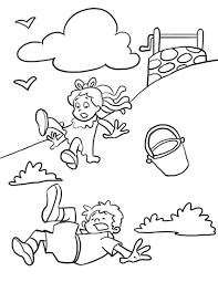 nursery rhymes coloring pages printable free download sheets kids