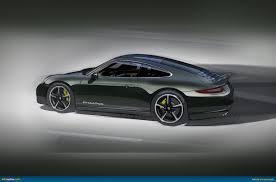 porsche brewster green ausmotive com limited porsche 911 club coupe revealed