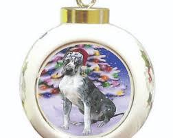great dane ornament etsy