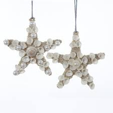 starfish and sand dollar ornaments shelley b