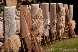 unique chair covers brown neutral wildflower linen