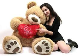 big valentines day teddy bears i you 5 foot teddy s day soft holds