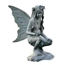 fairy garden statues amazon com spi home 33337 fairy garden sculpture outdoor