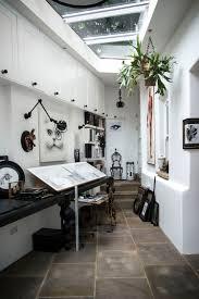 Creative Skylight Ideas Studio Creative Workspace With Skylights Interior Design