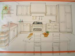 dessiner en perspective une cuisine perspective fabrice