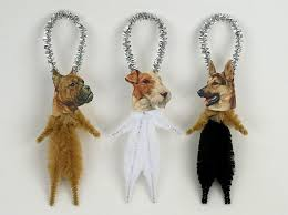 ornaments handmade chenille ornaments pet