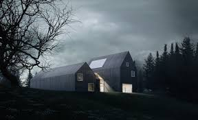 Winter House Sophisticated Minimalist House In Denmark Lets You Enjoy Nature