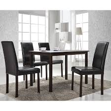 amazon com baxton studio 5 piece andrew modern dining set