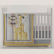 chic by jonathan adler safari giraffe 4 pc crib bedding set