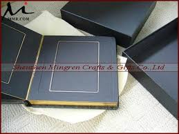 Photo Album Inserts Wedding Leather Fabric Cloth Linen Slip In Matted Photo Album With