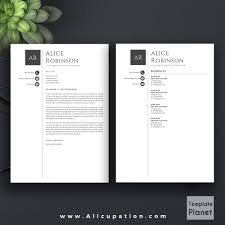 Resume Sample With Cover Letter by Modern Resume Template Cv Template Cover Letter References 1