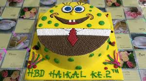 spongebob cake ideas spongebob cake decorating unique