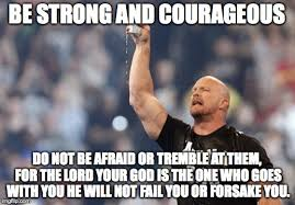 Be Strong Meme - imgflip